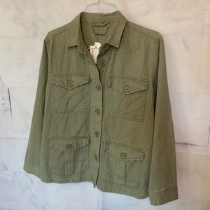 Paparazzi Olive Green Floral Embroidered Fashion
